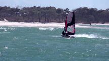 Slow-mo Windsurfing