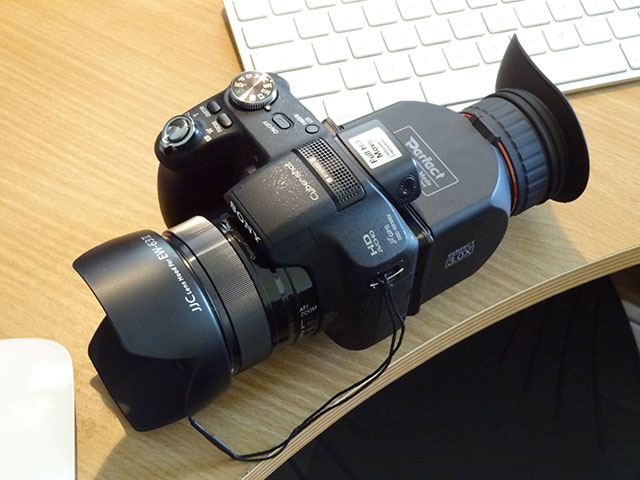 My Sony DMC-HX100V Super Zoom Camera
